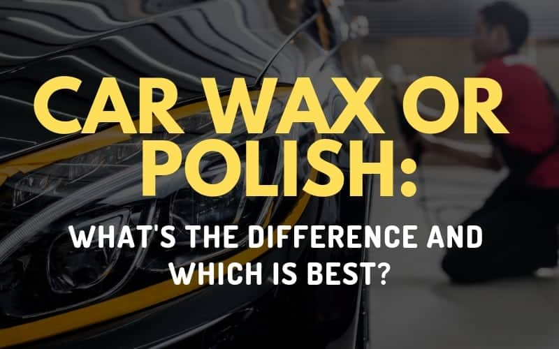 car wax or polish