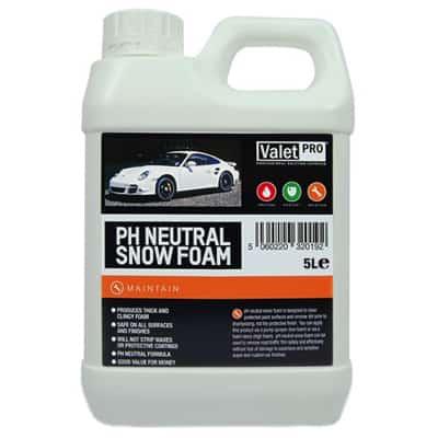valet pro snow foam