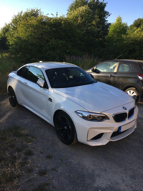BMW M2 White