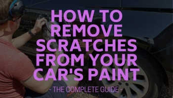 How to Remove Scratches from Your Car's Paint