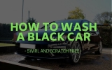 How to Wash a Black Car