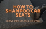 How To Shampoo Car Seats