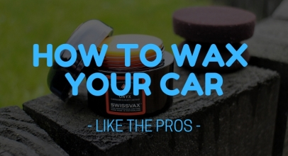 How To Wax A Car – Like The Pro's